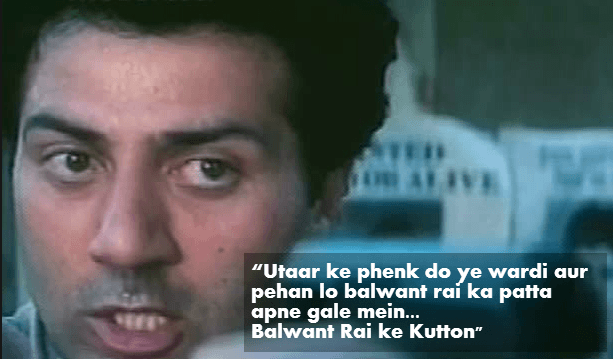 Sunny Deol Dialouges