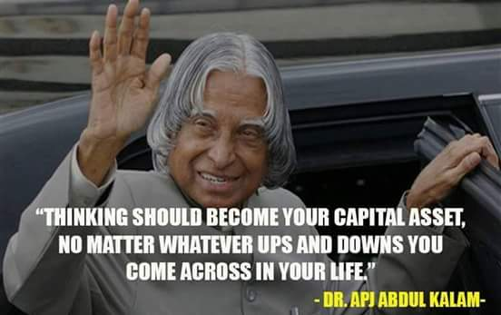 Dr. kalam quotes on thoughts