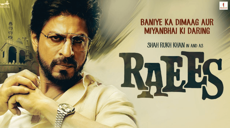 Raees Movie First Poster