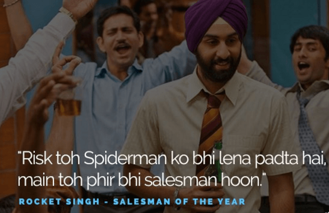 Salesman Of The Year Movie Dialogues